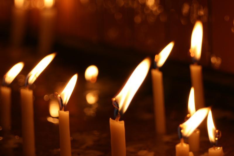 A candela dans Puesia corsa candla
